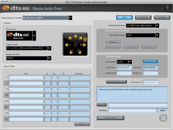 DTS-HD-Encoder