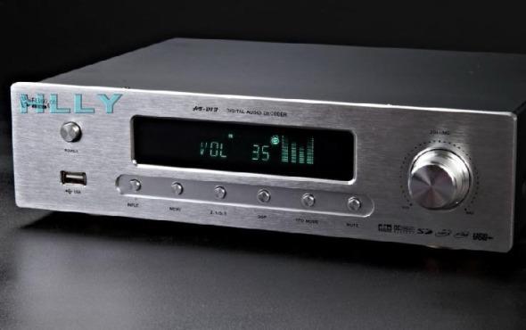 HLLY DTS AC3 5.1 DIGITAL AUDIO DECODER